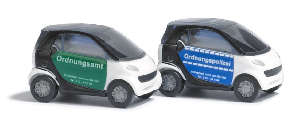 Busch N Scale Smart Cars