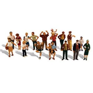 Ho scale people