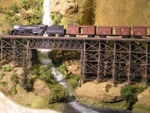 ho scale waterfall
