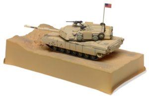 S scale Abrams Tank