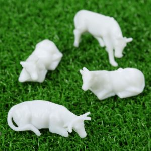 Unpainted cows for those who like to do their own Painting.